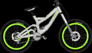 自転車のブレーキと摩擦力