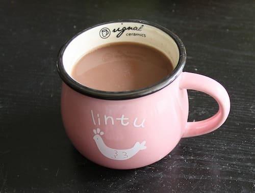 ココアやコーヒーは、「溶けた」とはいえない