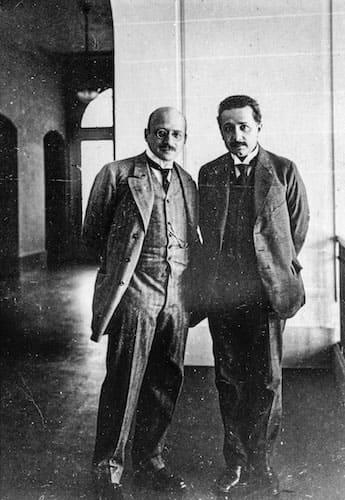 アインシュタインとハーバー