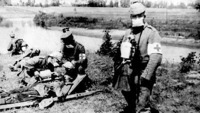 第一次世界大戦での塩素ガス