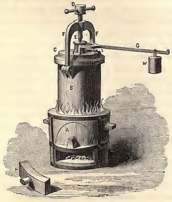 パパンが発明した圧力鍋