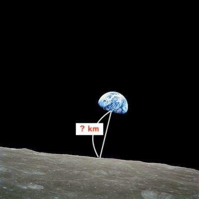 月と地球の距離