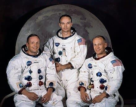 アポロ11号の宇宙飛行士たち