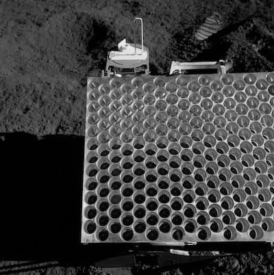 アポロ15号が設置したコーナーキューブ