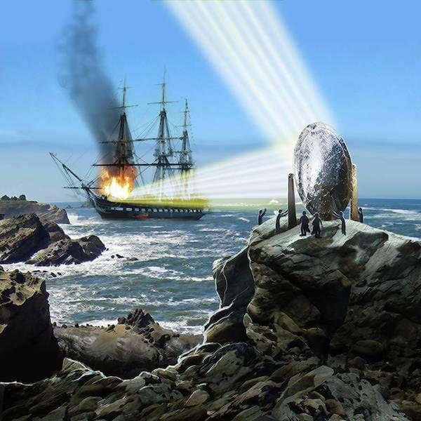 アルキメデスの死の光線