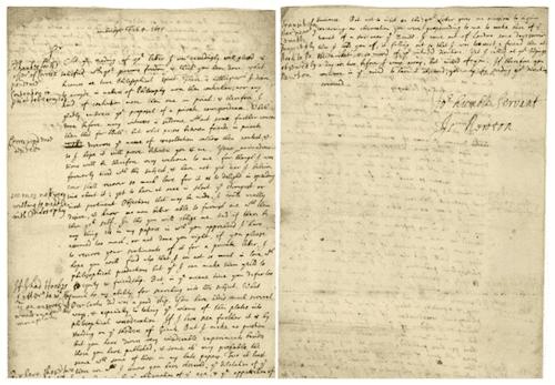 ニュートンのフックへの手紙