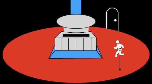 悟空が修行した重力室イメージ