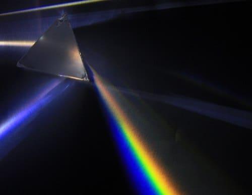 プリズムによる分光