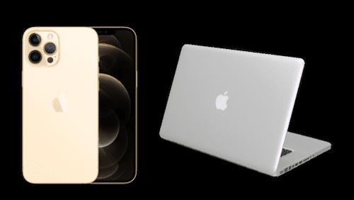 アルミに覆われたApple製品