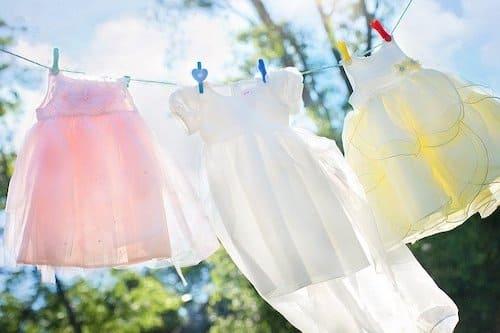 洗濯物と蒸発